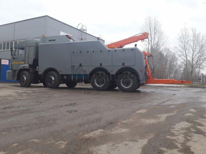 Эвакуатор Helfer на шасси КАМАЗ 65201