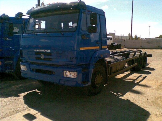 ШАССИ KAMAЗ-65117-48 (А5)
