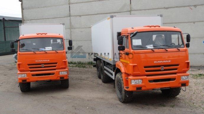 Изотермический фургон КАМАЗ 43118-46