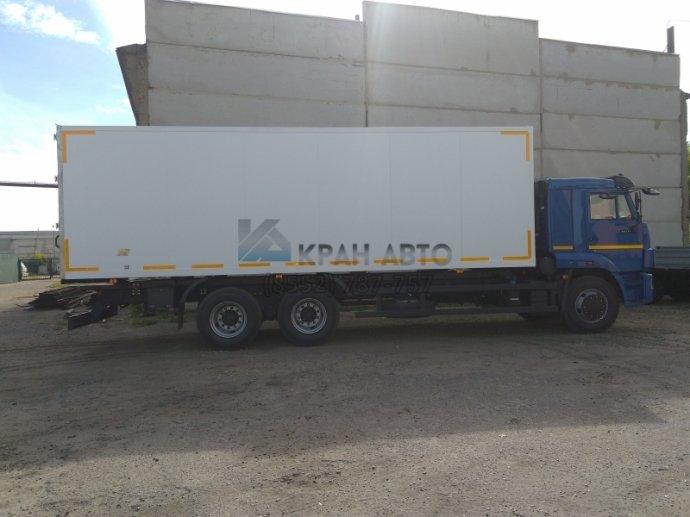 Изотермический фургон КАМАЗ 65117-19