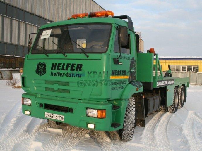 Эвакуатор Helfer на шасси КАМАЗ-65115 бу