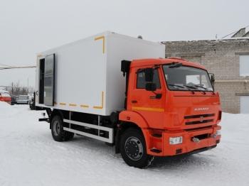 Изотермический фургон КАМАЗ 43253-28