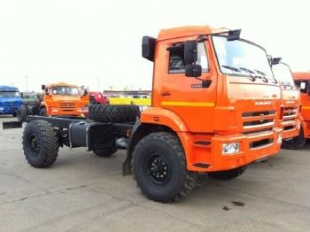КАМАЗ 43502-3026-45 шасси