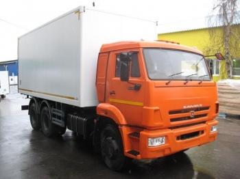 Изотермический фургон КАМАЗ 65115-46