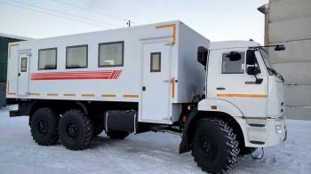 Вахтовый автобус КАМАЗ 43118 - 28 мест.