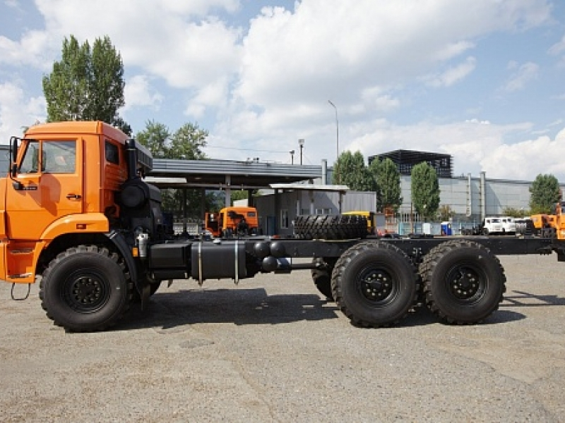 ШАССИ KAMAЗ-5350-66 (D5)
